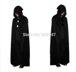 Disfraz AliExpress Halloween Capa negra