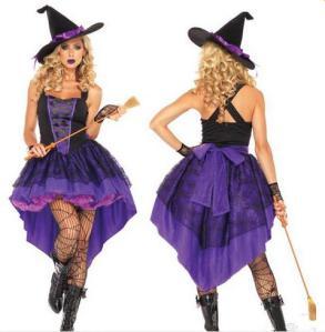 Disfraz AliExpress Halloween Bruja morada adulto