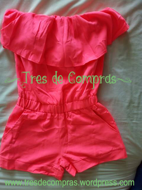 Tracksuit pink pants mono corto AliExpress tres de compras tresdecompras gagaopt